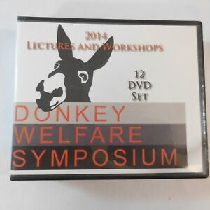 DVD Donkey Welfare Symposium 2014 Lectures & Workshops 12 DVD Set Titles In Pics