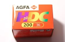 AGFA Germany High Definition Color Plus 24x36mm ISO 200/24 Film Expired 2002