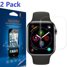 2X Nacodex Full Coverage Screen Protector For Apple Watch Series 5 Series 4 44mm