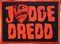 """JUDGE DREDD Iron On Sew On Fancy Dress Embroidered Shirt Bag Badge Patch 3.2"""""""