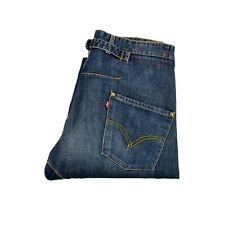 LEVIS 002 Engineered Red tab JEANS Denim BLUE Twisted Leg W34 L31 Cinch Nice