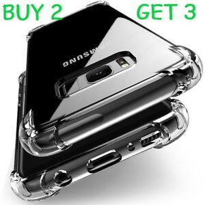 Samsung Galaxy S9   Case Cover ShockProof  Clear Silicone Ultra Slim Gel