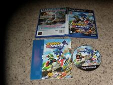 Sonic Riders Playstation 2 PS2 Pal Version Near Mint Game