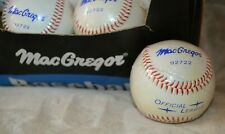 MacGregor-Official Baseball 92722 New plastic wrapped 27 balls