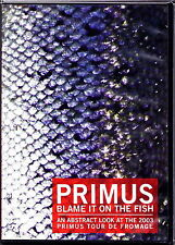 PRIMUS - Blame It On The Fish 1989 / 2003 / 2006  DVD RARE Import