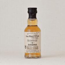 Balvenie 12 Year Old DoubleWood Single Malt Whisky Miniature 50ml - 5cl - 40%