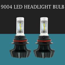 2pcs 9004 HB1 LED Headlight Bulb Conversion Kit 1800W 300000LM Combo Hi/Low Beam