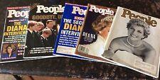 People Magazines. Lot of 5. 1997. Princess Diana.