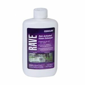 Rave® Windshield Treatment Water repellent, vision enhancer, wax