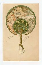 illustrateur MUCHA . Art Nouveau . Femmes