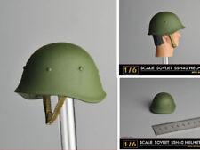 "Helmet Metal 1:6 Soviet SSH40 Military F 12"" Solider Figure Model Toy Gift"