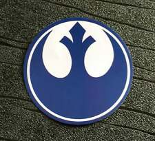 Star Wars Sticker Rebel Alliance Waterproof and UV resistant PVC sticker Blue