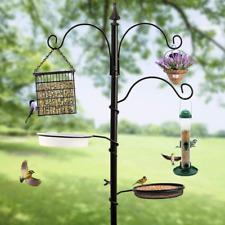 Bird Feeding Station Kit Adjustable Feeder Garden Planter Hanger Stand Pole 72in