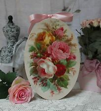"~ ""Garden Roses..."" Vintage Shabby Chic Country Cottage style Wall Decor. Sign ~"