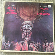 Mikhail Glinka Classical Music Vinyl 4 Lp Records Ruslan and Ludmila Opera