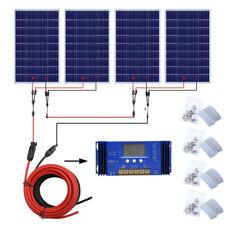 640Watts Solar Module Kit: 4*160W PV Solar Panel for 24V Caravan Off Grid System