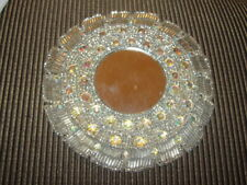"BATON TWIRLING ""CIRCLE RHINESTONE"" PIECES 1980'S TOOK OFF MY OLD UNIFORMS"
