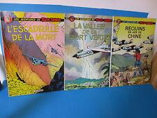 lot : BUCK DANNY ;3 Albums en EO ; N° 35 (1968) / 38 (1973) / 39 (1977)