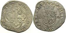 Casa Savoia - Emanuele Filiberto - Bianco o 4 Soldi 1570 B Mi - NC Mir520u g.4,7