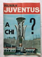HURRA' JUVENTUS N. 5 MAGGIO 1971 + POSTER CAUSIO FINALE COPPA DELLE FIERE LEEDS