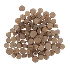 100 Mini Wood Slices for Wedding Decor Home Ornament Dried flower Adornments