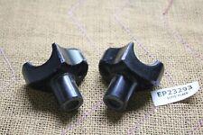black short handlebar risers Harley FXR FL Softail Dyna XL Road King EP23293