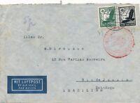 Nr 19870 Luftpost Brief Deutsches Reich Zeppelin Südamerika Fahrt - Brasilien 7