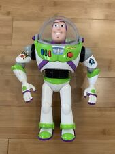 "Buzz Lightyear - Toy Story - Animated Action Talking Figure - 12"" Disney Pixar"
