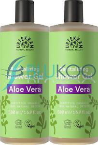 Urtekram Aloe Vera Shower Gel Organic - 500ml (Pack of 2)