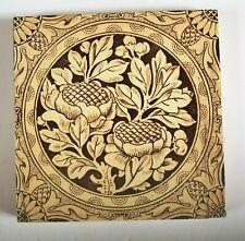 Victorian Aesthetic Movement transfer print tile