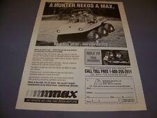 Vintage.Max 6-Wheel Amphibian.Sales Ad .Rare! (274J)