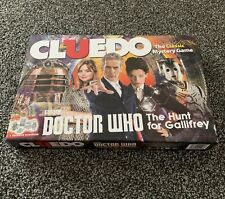 Cluedo Doctor Who Edition The Hunt For Gallifrey Edition Board Game - COMPLETE