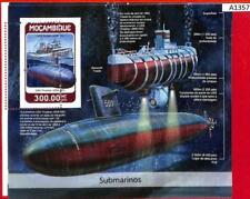 A1357 Mozambique- ERROR MISSPERF 2018 Ships submarine  Корабли подводная Лодка