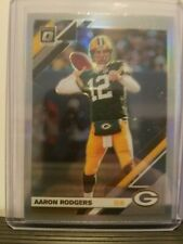 Aaron Rodgers 2019 Donruss Optic Football Holo SP Prizm Green Bay Packers