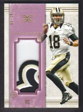 2015 Definitive Collection Jumbo Patch Purple #GG Garrett Grayson 02/10 Saints