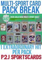 2020 Gold Rush Multi-Sport Vault Pack Break 1 RANDOM SPOT -MLB,NFL+ Break 3043