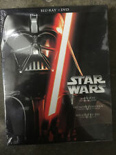 NEW STAR WARS TRILOGY EPISODES IV V VI BLU RAY DVD 6 DISC Sealed in Box