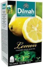 Ceylon Tea lemon Flavored Ceylon Black Tea   Dilmah   20 TEA BAGS