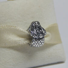 New Authentic Pandora Charm Mermaid 791220 Bead Box Included