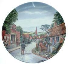 Royal Doulton Saturday Matinee Crinkley Bottom Mick Bensley plate - CP1851