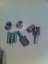 10 sets 3/8-16 ferrule and 5/16-18 hanger bolts. beer tap handle repair parts