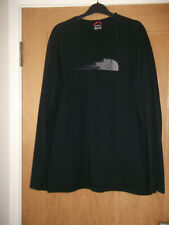 Mens The North Face Black Long Sleeved T.Shirt.  Size L. Good Condition.
