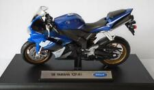 YAMAHA YZF-R1 Motorbike Boys Toy Model 1:18 Stocking Filler Boxed Present Gift