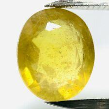 Genuine Amarillo Oval Zafiro 2.82ct 8.5x7.2mm