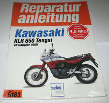 Reparaturanleitung Kawasaki KLR 650 Tengai ab Baujahr 1989