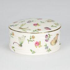 Jewellery box - Porcelain jewelry trinket Box Jar - Dragon Butterfly- Keys - NEW