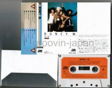 BONEY M. s/t JAPAN Mail Order-Only CASSETTE TAPE FKPA2028 w/PS Free S&H/P&P