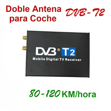 Coche 1080P HD TV Caja Digital Móvil DVB-T DVB-T2 USB PVR HDMI  Doble Antena
