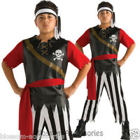 CK330 Pirate King Caribbean Fancy Dress Up Party Costume Boy Halloween Book Week