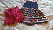 KPea Kids Dress 10 & Kpea Pink  Ruffle Shorts 8 Set